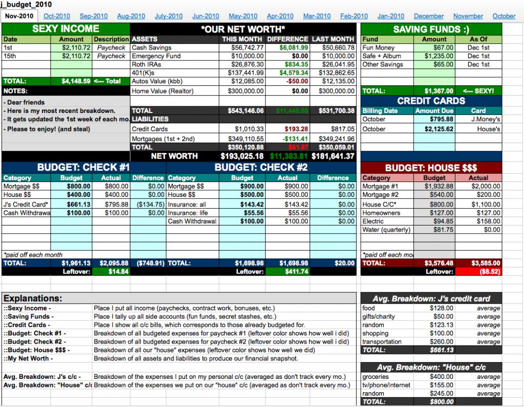 Every Dollar Budget Spreadsheet Db Excel