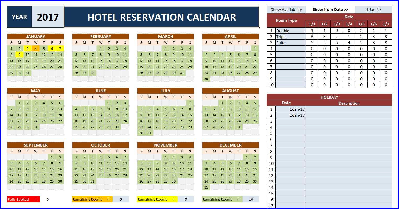 Excel Room Booking Spreadsheet Inside Room Booking