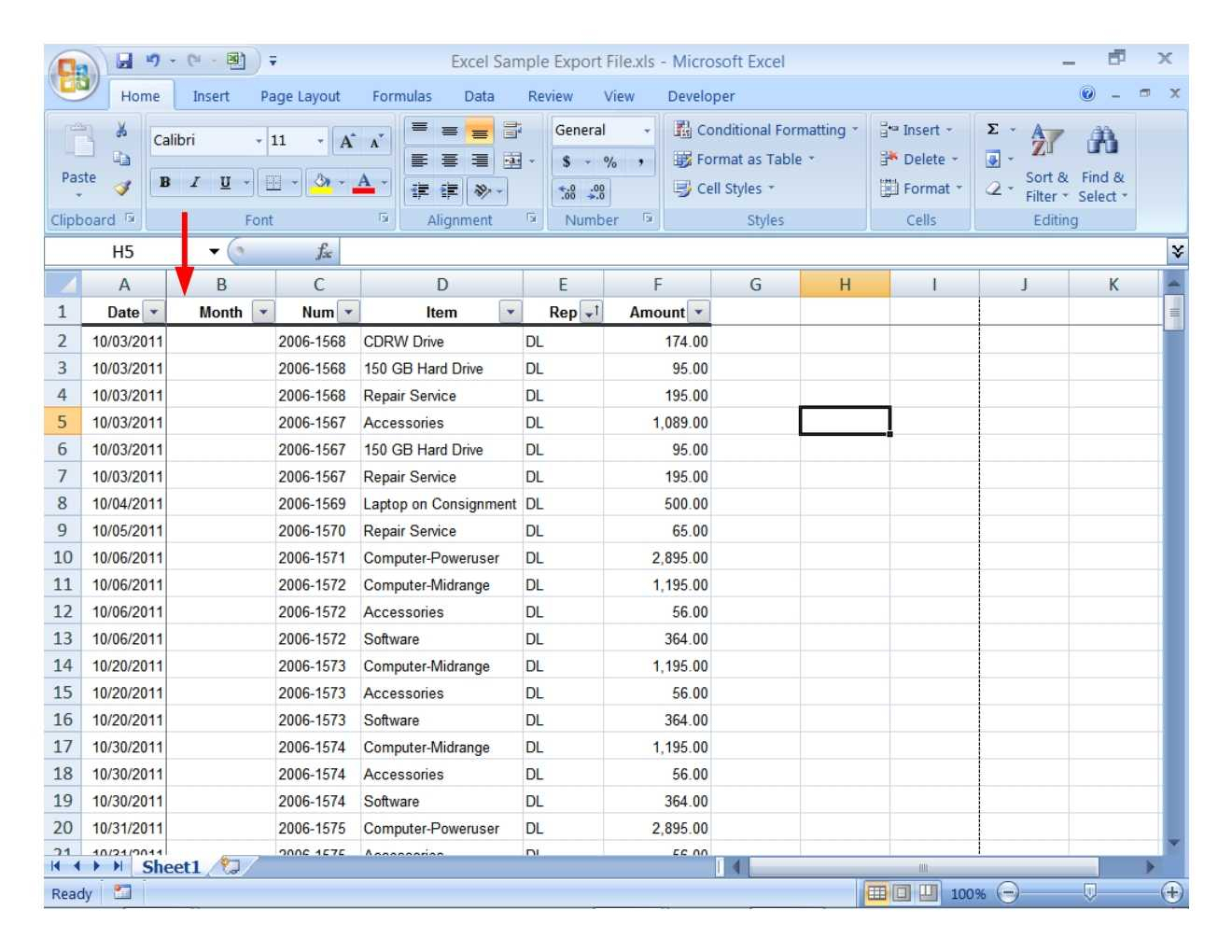 Excel Spreadsheet Examples For Students Db Excel