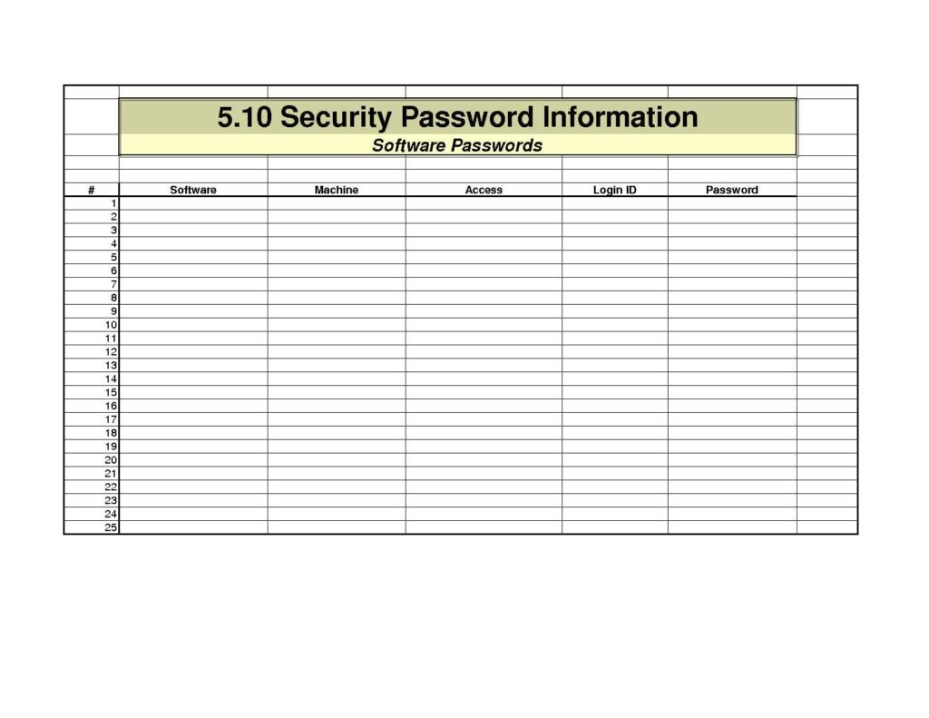 Excel Spreadsheet Password Recovery For Excel Spreadsheet Password Recovery Password Spreadsheet