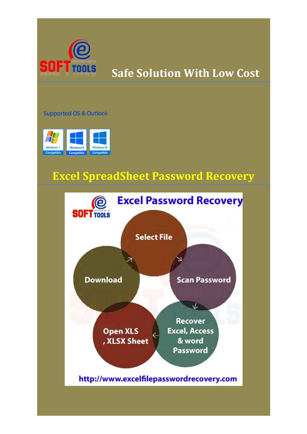 Excel Spreadsheet Password Recovery Intended For Excel Spreadsheet Password Recoverypdof Sub