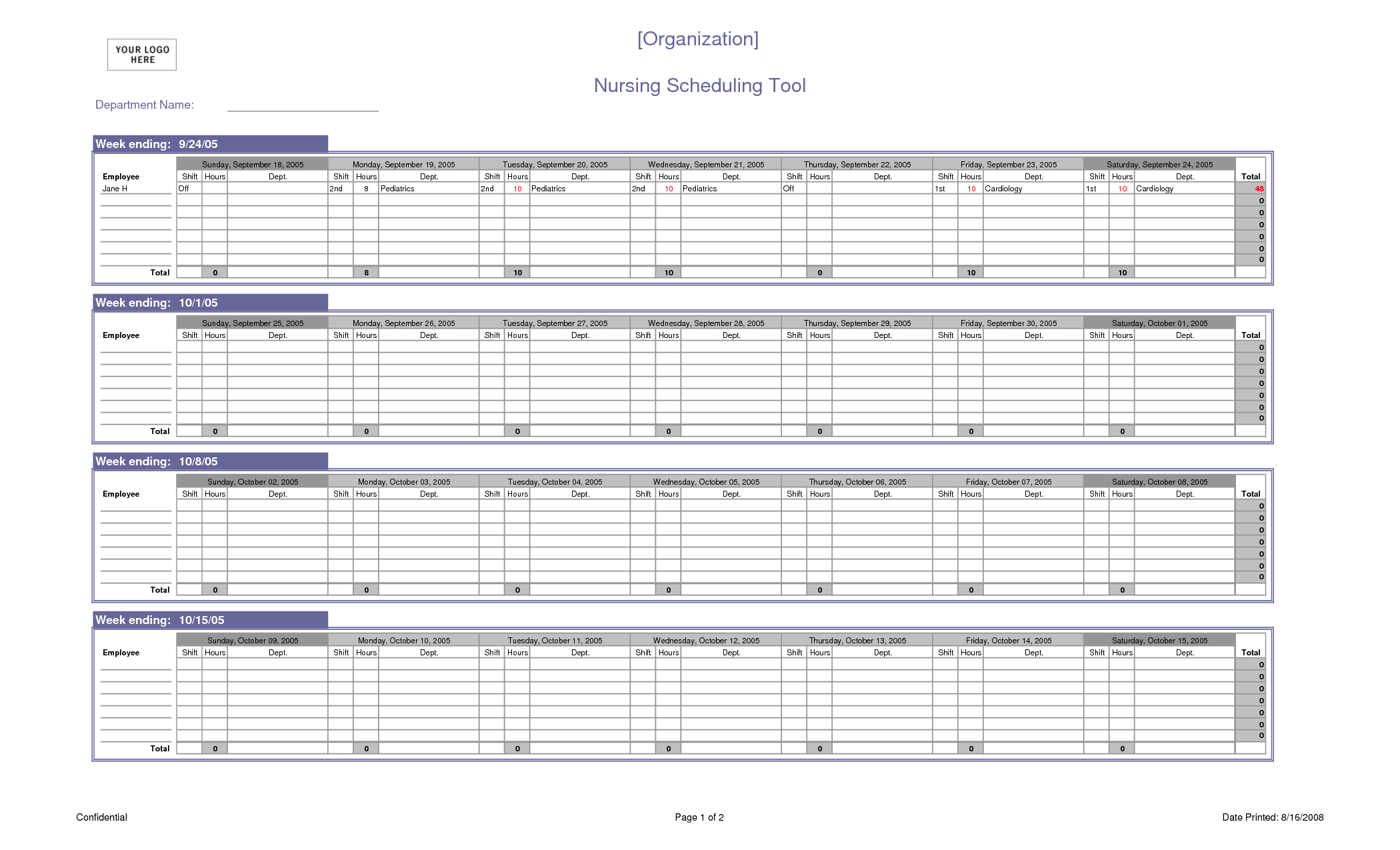 Excel Spreadsheet Schedule Template Pertaining To Excel