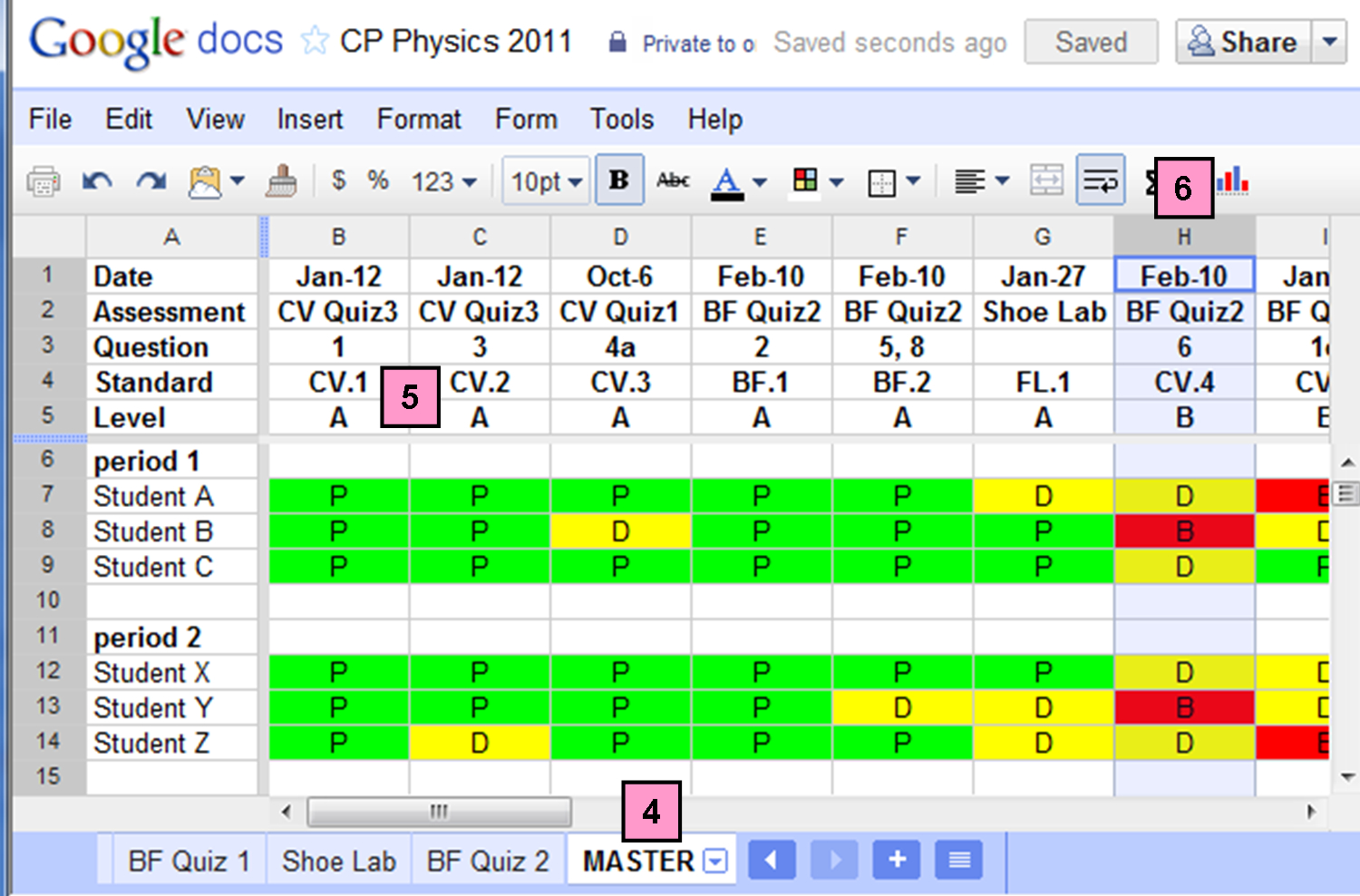 Excel Spreadsheet To Track Student Progress Intended For