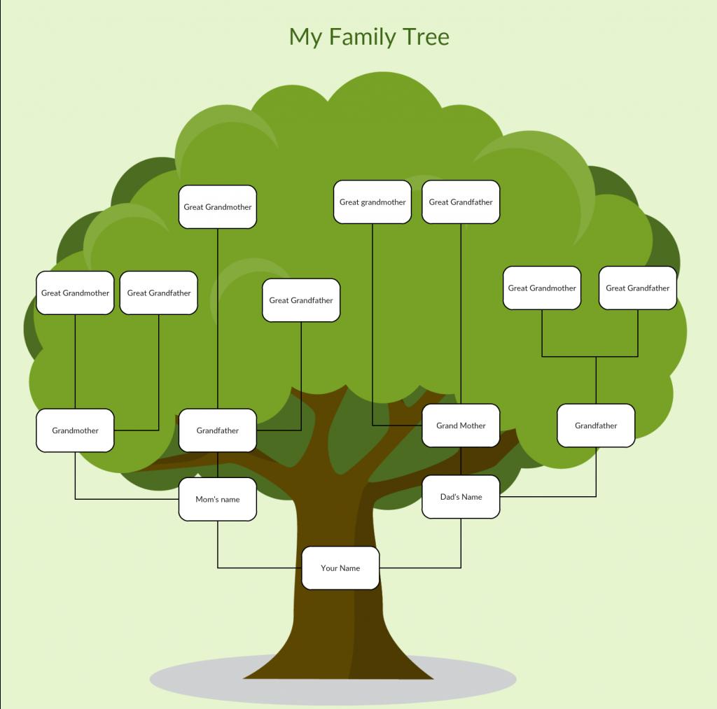 Family Tree Spreadsheet Template Spreadshee Family Tree Microsoft Template Family Tree