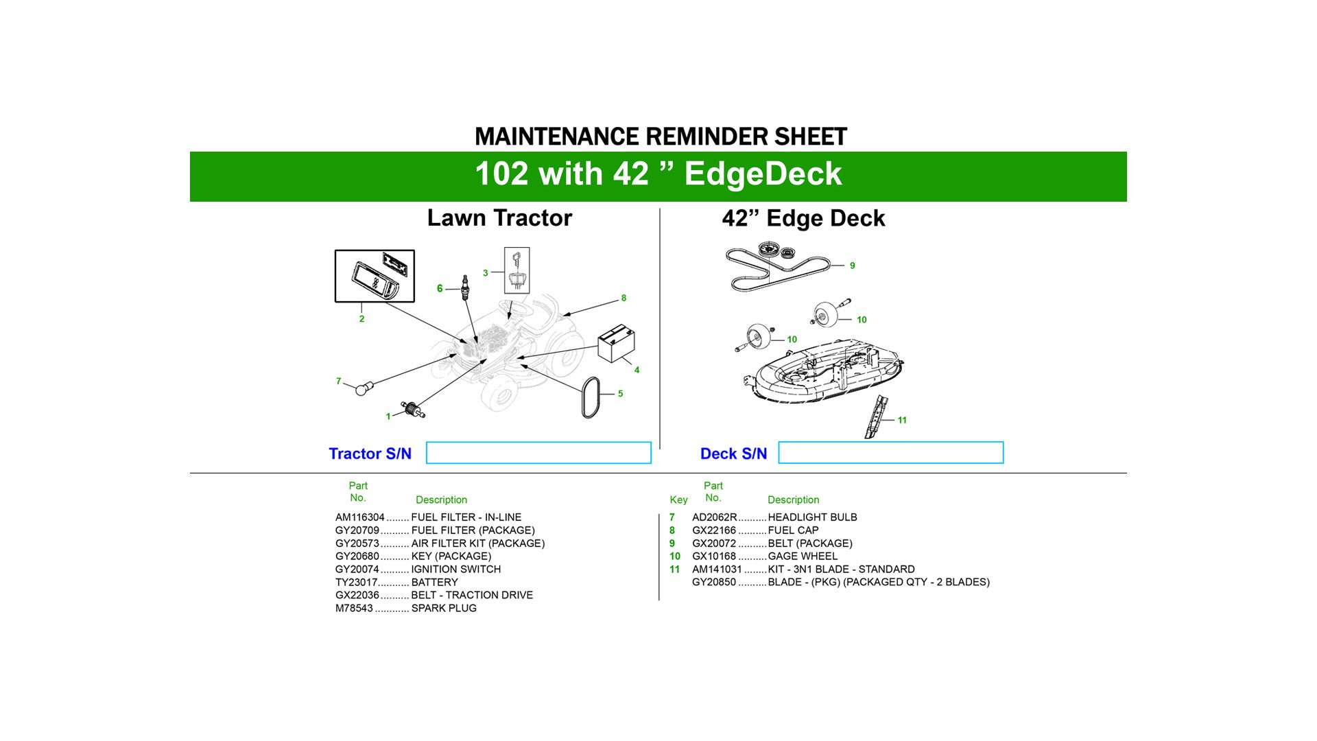 Farm Equipment Maintenance Log Spreadsheet In Quick