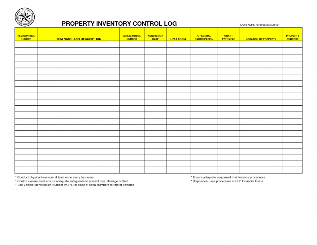 Farm Inventory Spreadsheet Template For Farm Accounting
