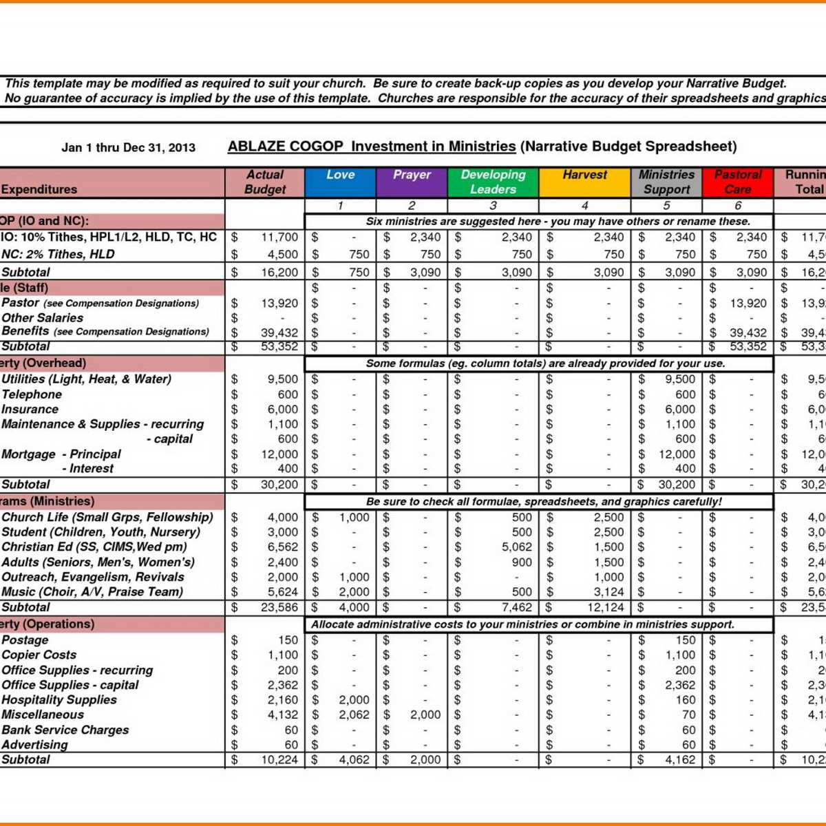 Farm Spreadsheet Spreadshee Farm Bookkeeping