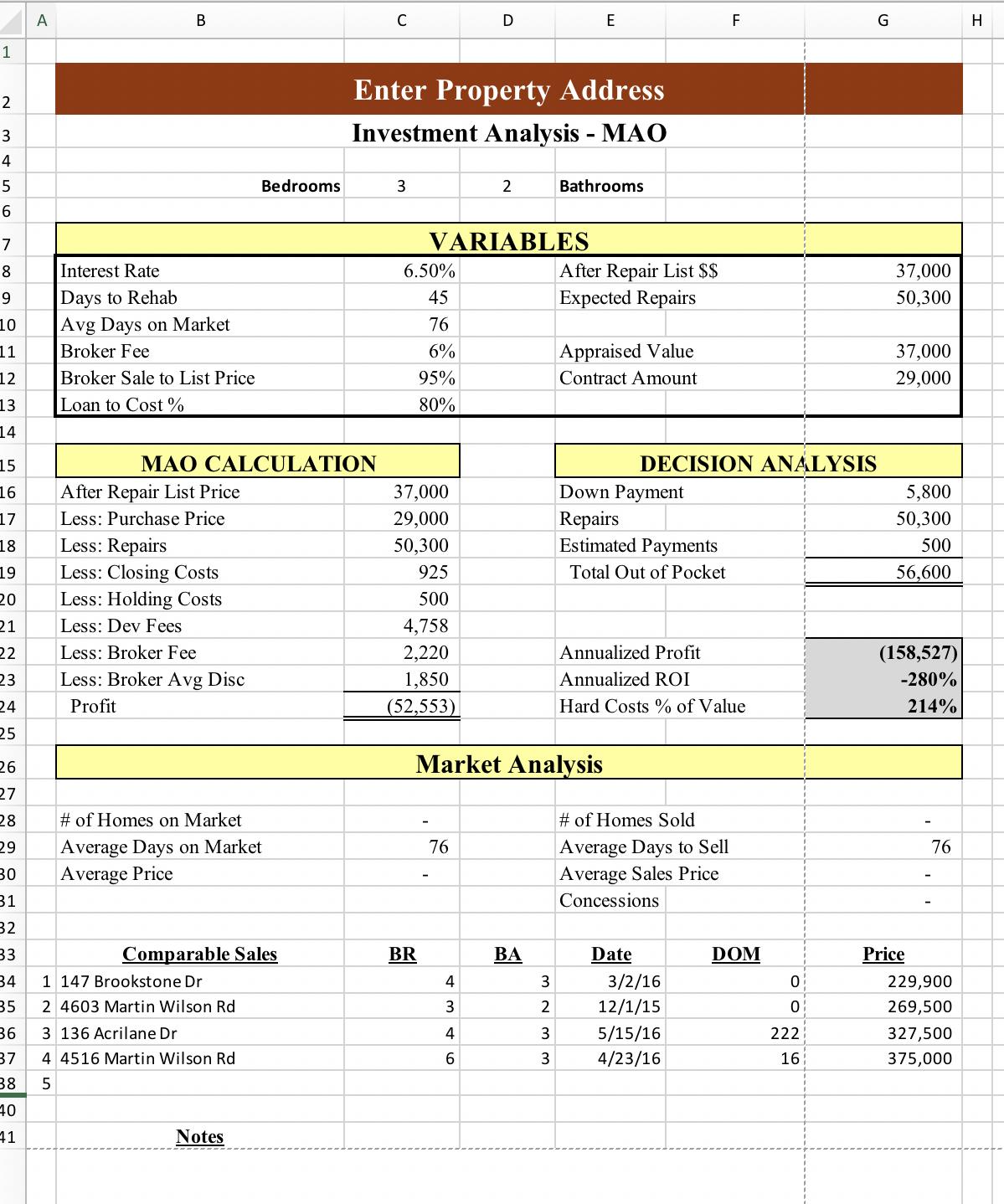 Simple Risk Assessment Worksheet