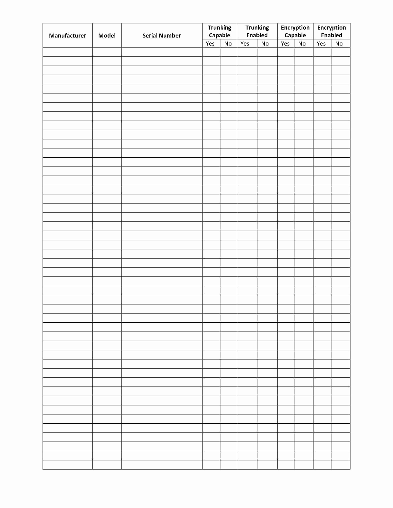 Food And Beverage Inventory Spreadsheet Pertaining To