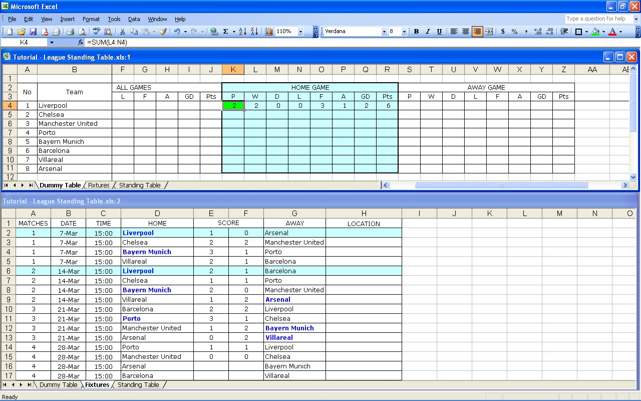 Free Football Pontoon Spreadsheet Db Excel