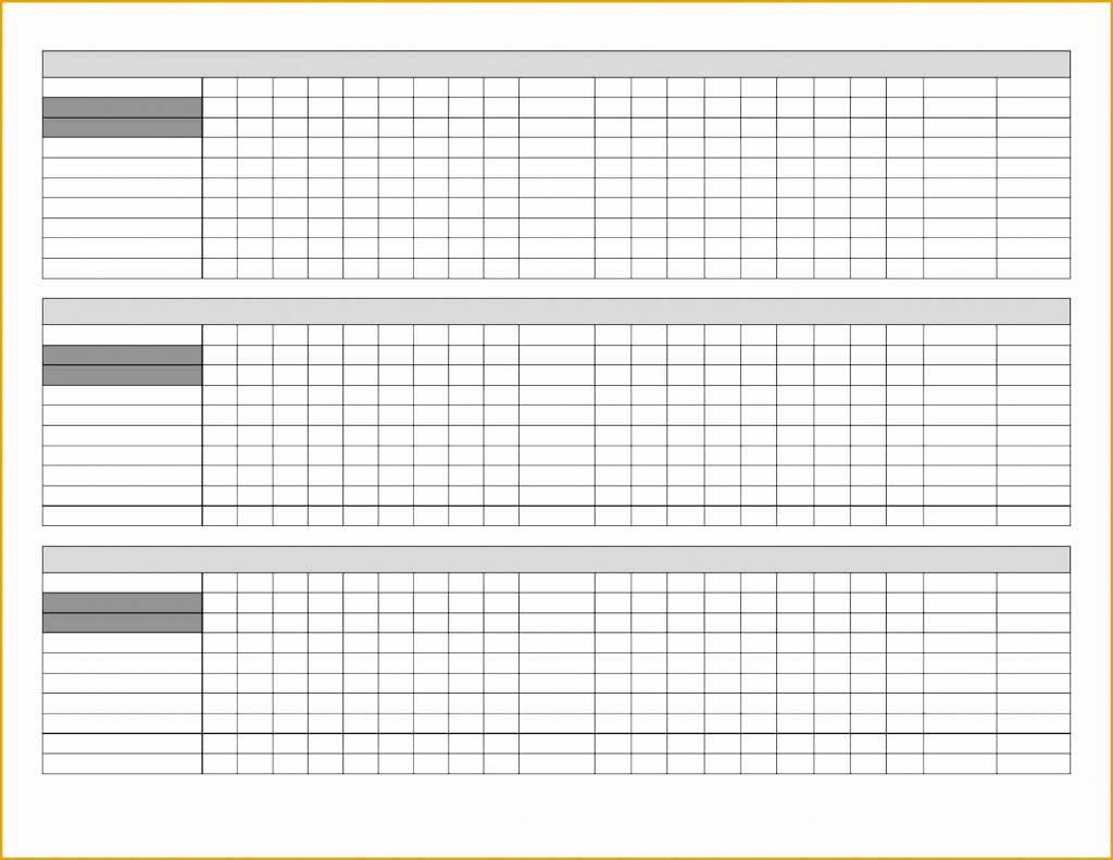 Golf League Handicap Spreadsheet Throughout Golf League