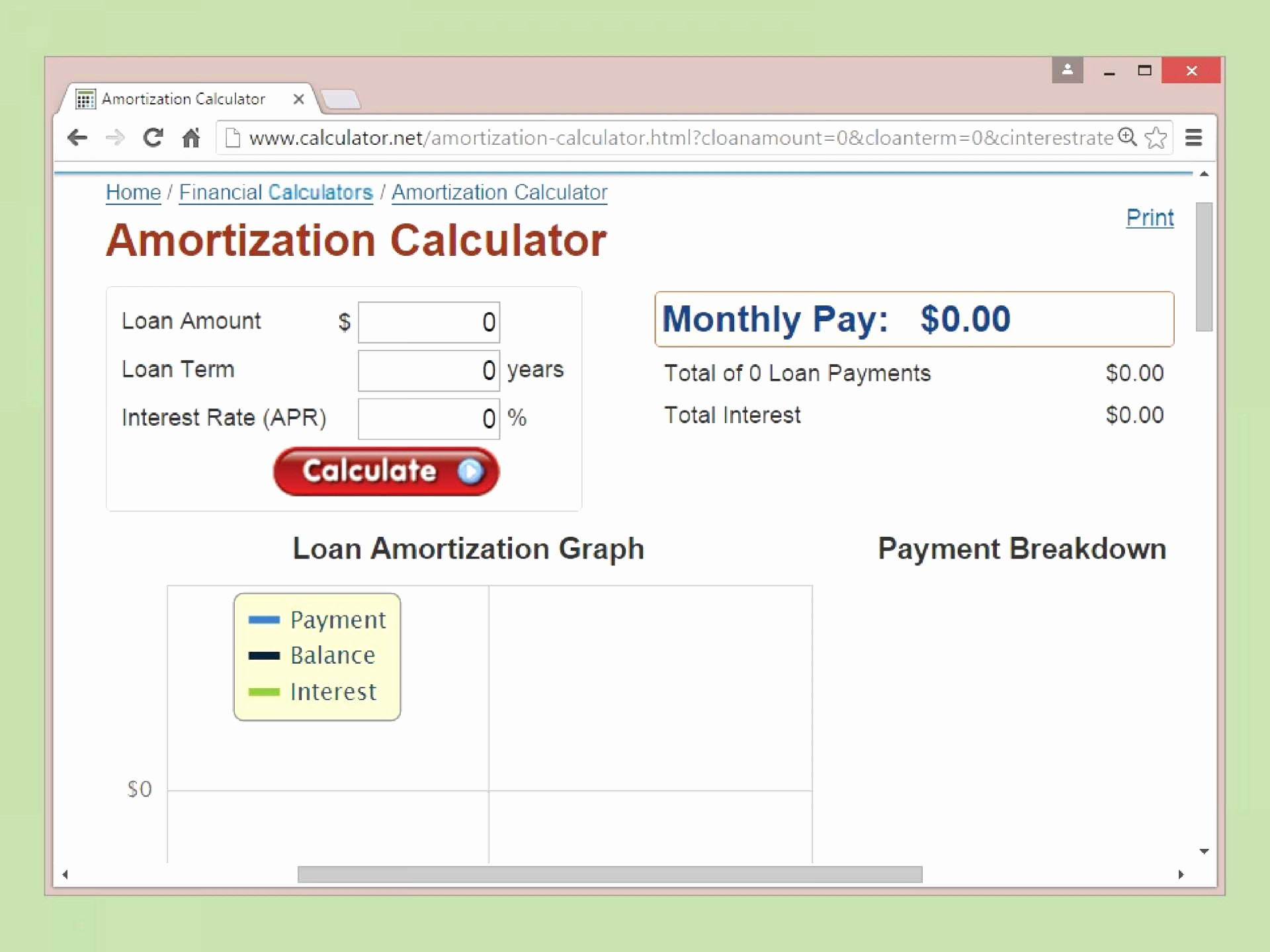 Amortization Spreadsheet Throughout 018 Auto