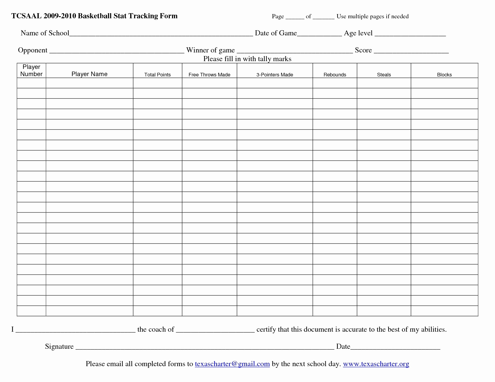 Hockey Stats Spreadsheet Template Intended For Printable