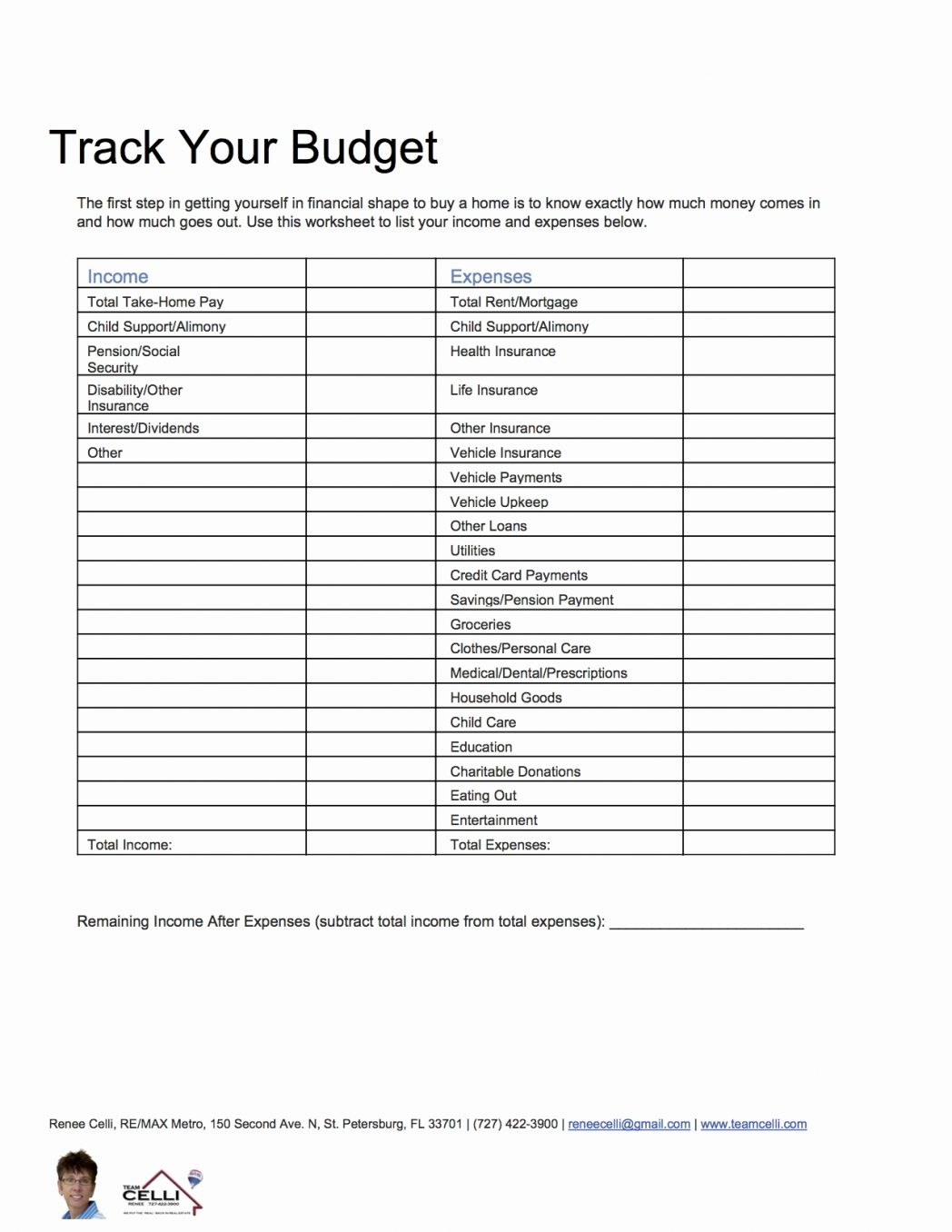 Home Buying Expenses Spreadsheet Spreadsheet Downloa Home