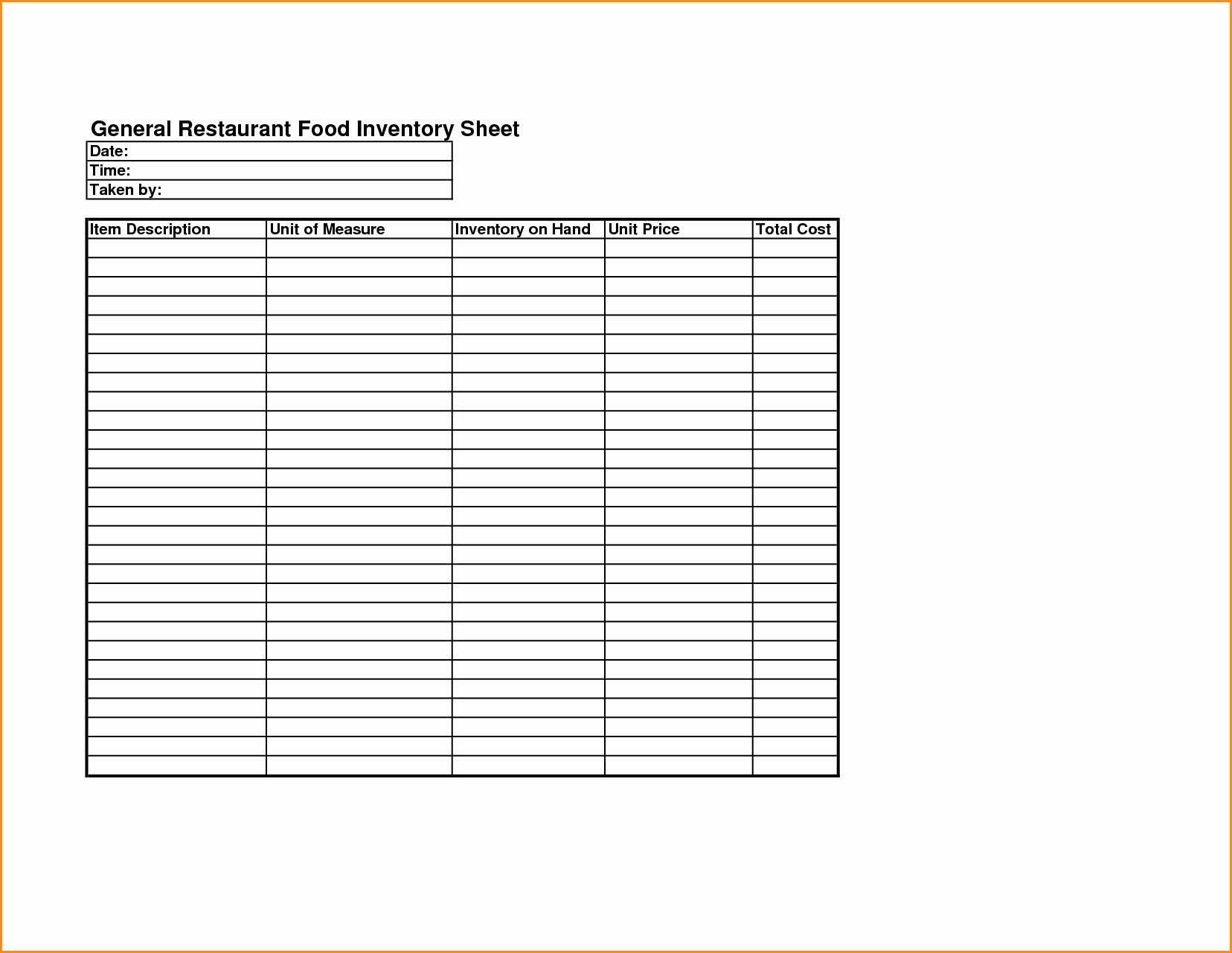 Home Food Inventory Spreadsheet Spreadsheet Downloa Home Food Inventory Spreadsheet