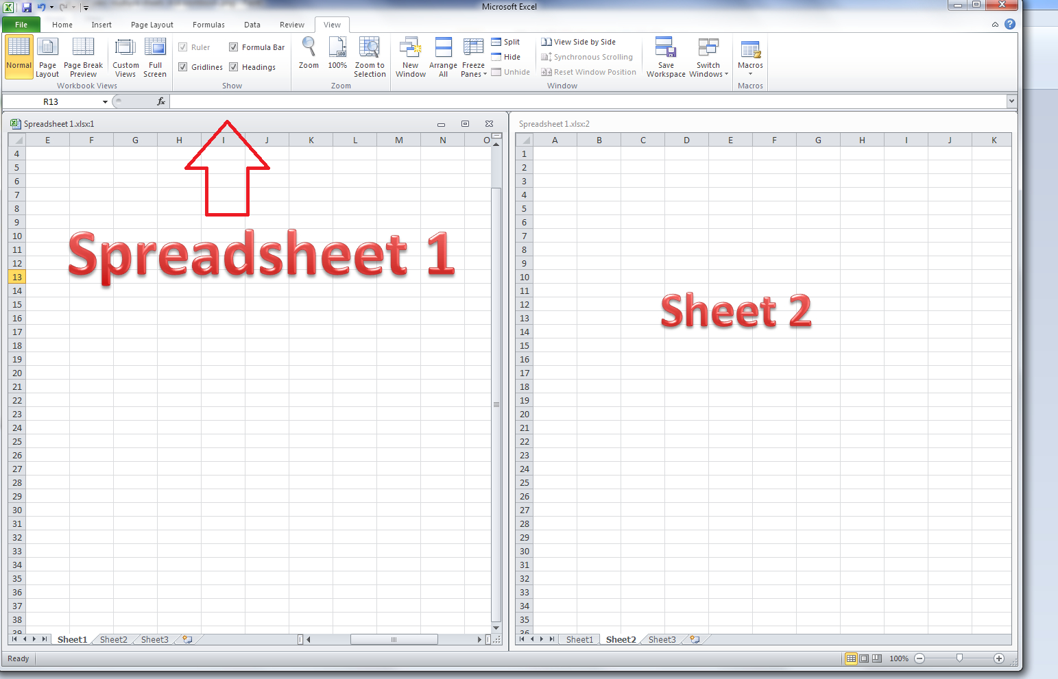 Two Column Cash Flow Worksheet