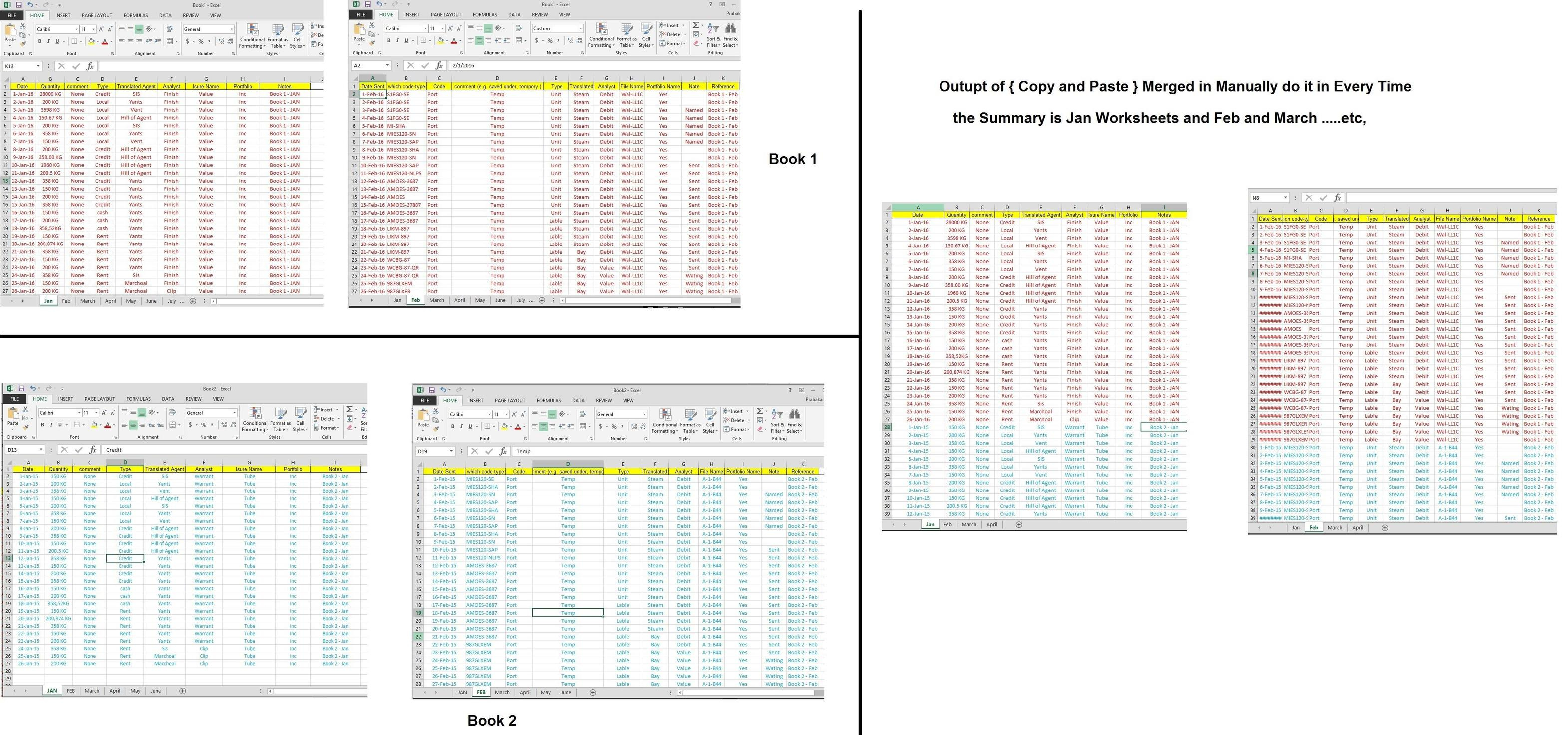 How To Combine Excel Spreadsheets Intended For How To