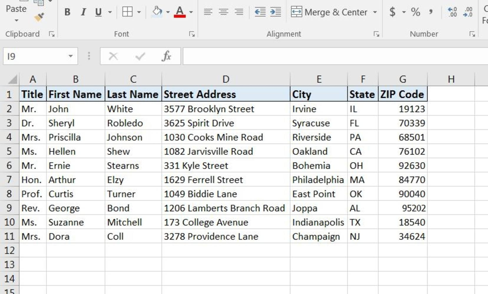 How To Print Labels From Excel Spreadsheet With Regard To