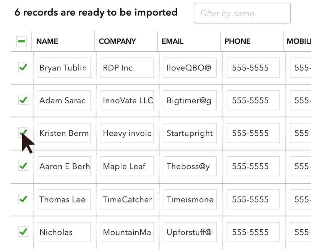 Import Excel Spreadsheet Into Quickbooks With How To Add
