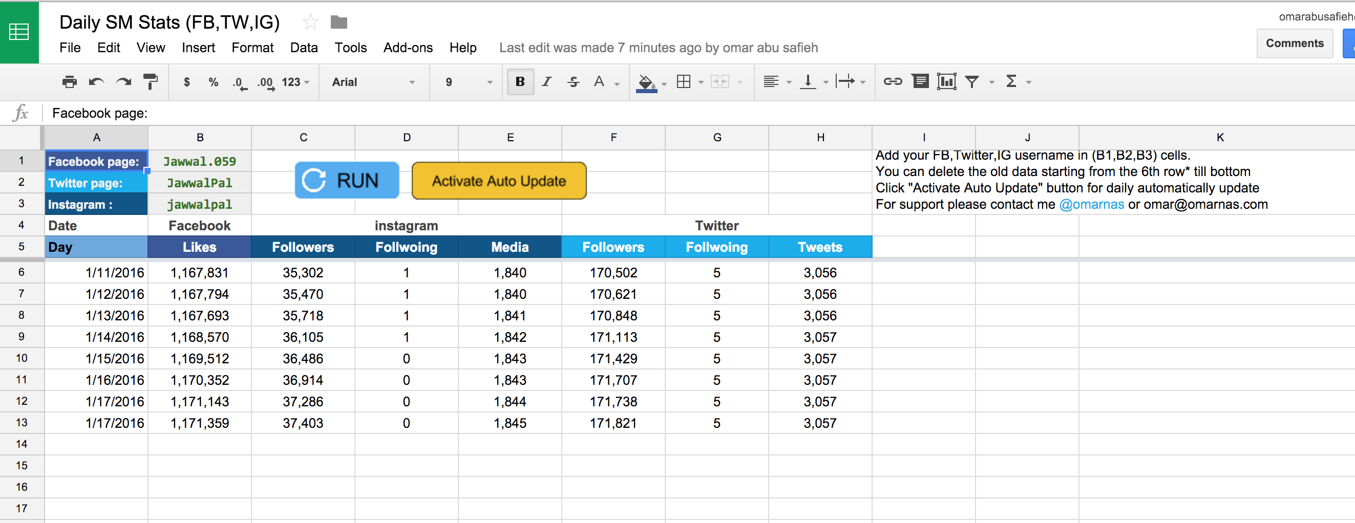 Instagram Spreadsheet Spreadshee Instagram Planning Spreadsheet Instagram Spreadsheet