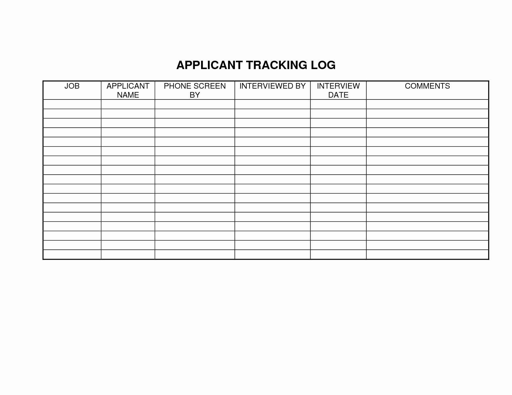 Job Application Tracker Spreadsheet Inside Applicant