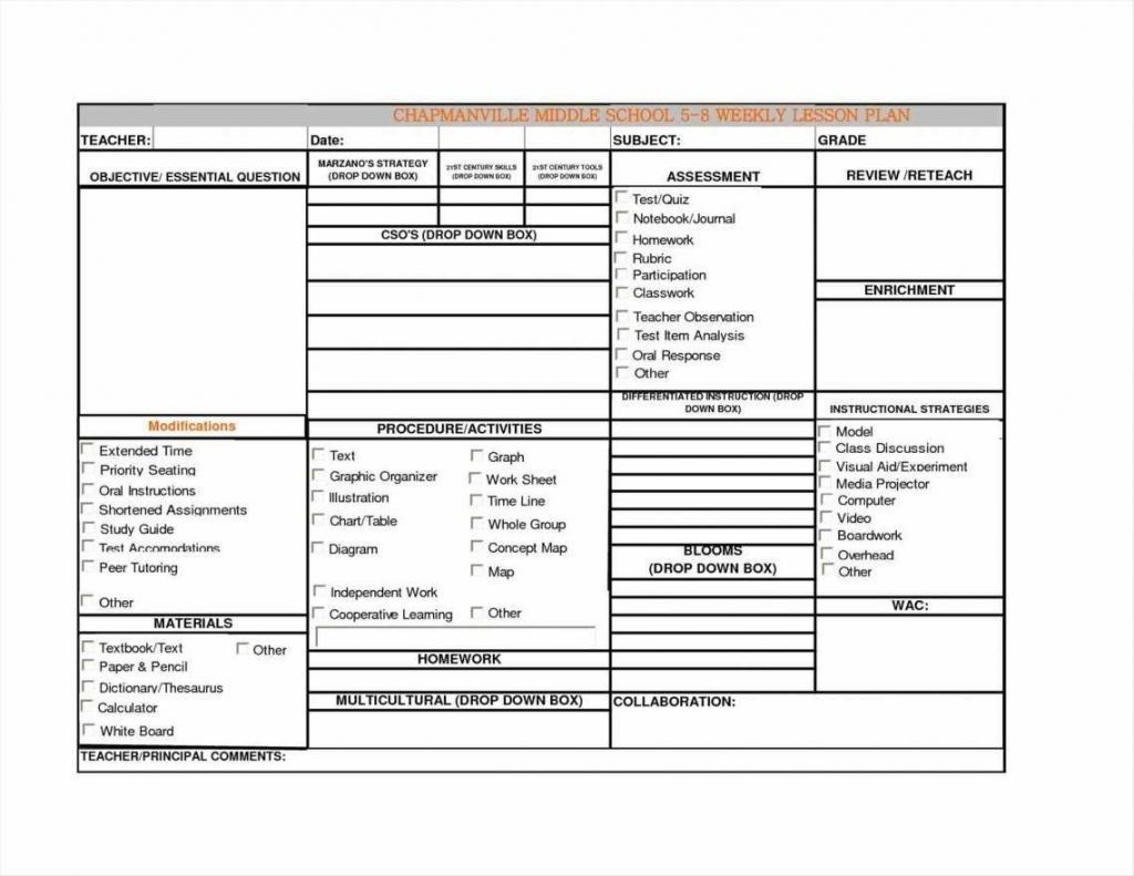 Lesson Plan Template Excel Spreadsheet Spreadshee Lesson Plan Template Excel Spreadsheet
