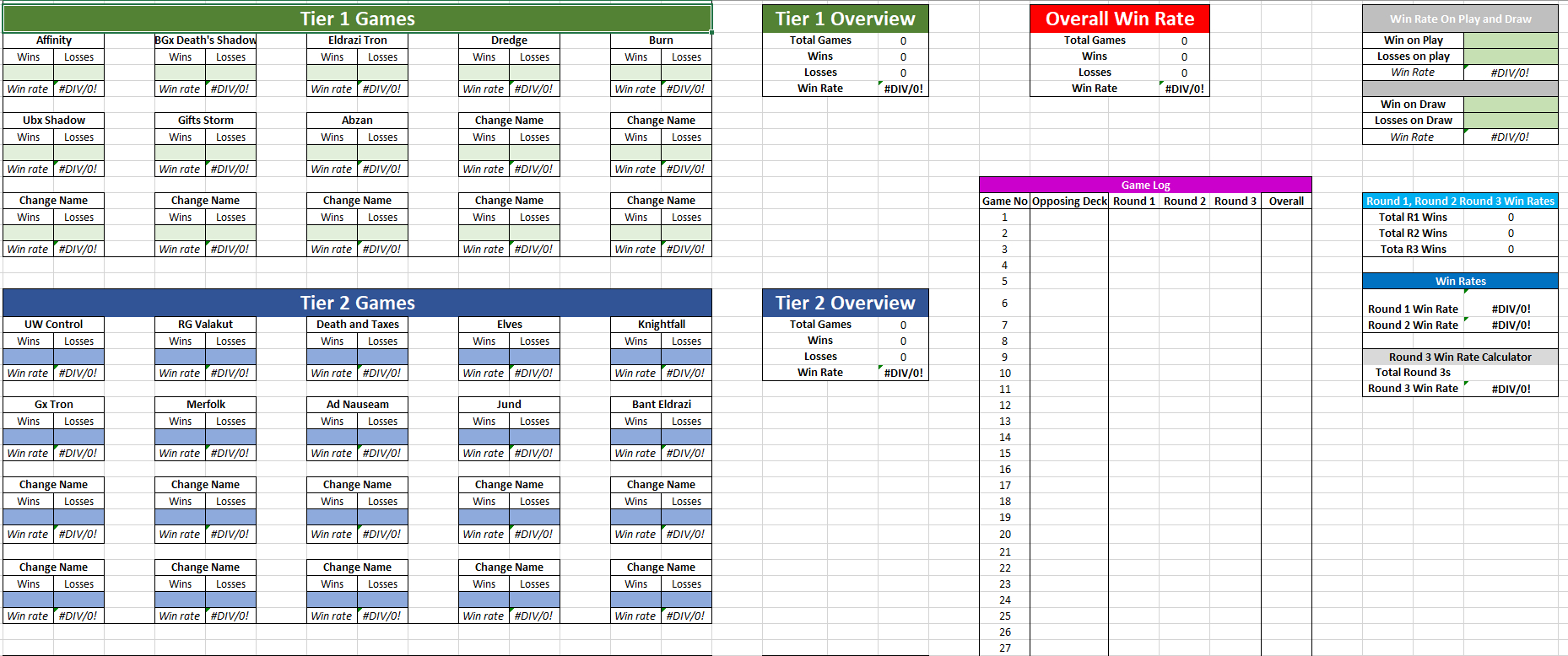 April Archive Page 6 Loan Repayment Spreadsheet
