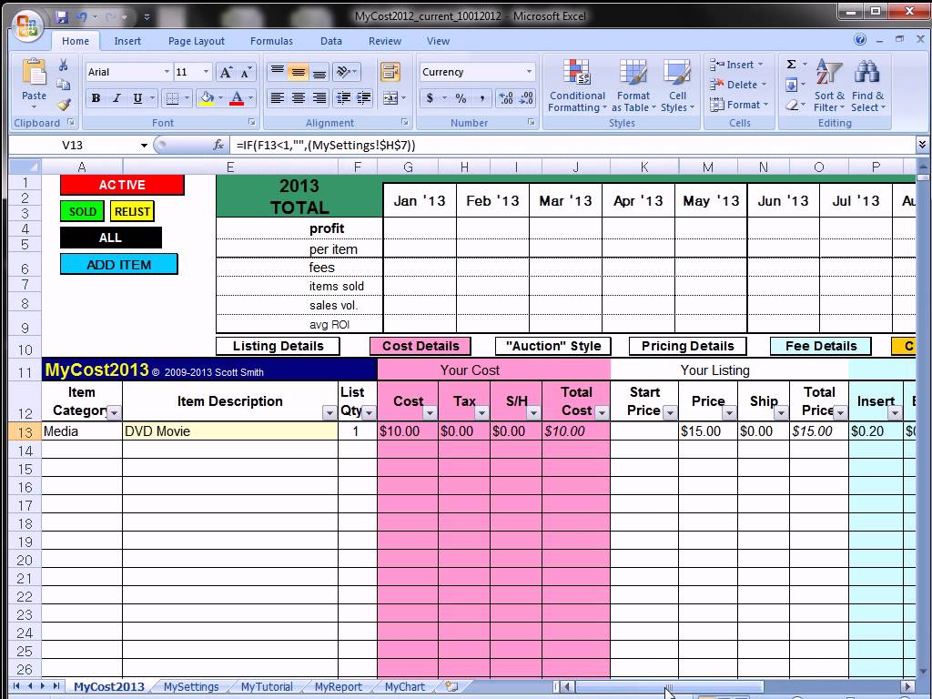 Microsoft Excel Spreadsheet Instructions Spreadshee