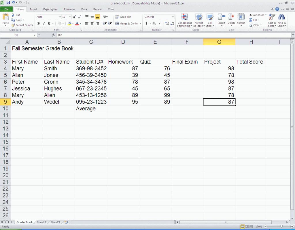 Microsoft Excel Spreadsheet Tutorial Intended For Microsoft Excel Spreadsheet Tutorial