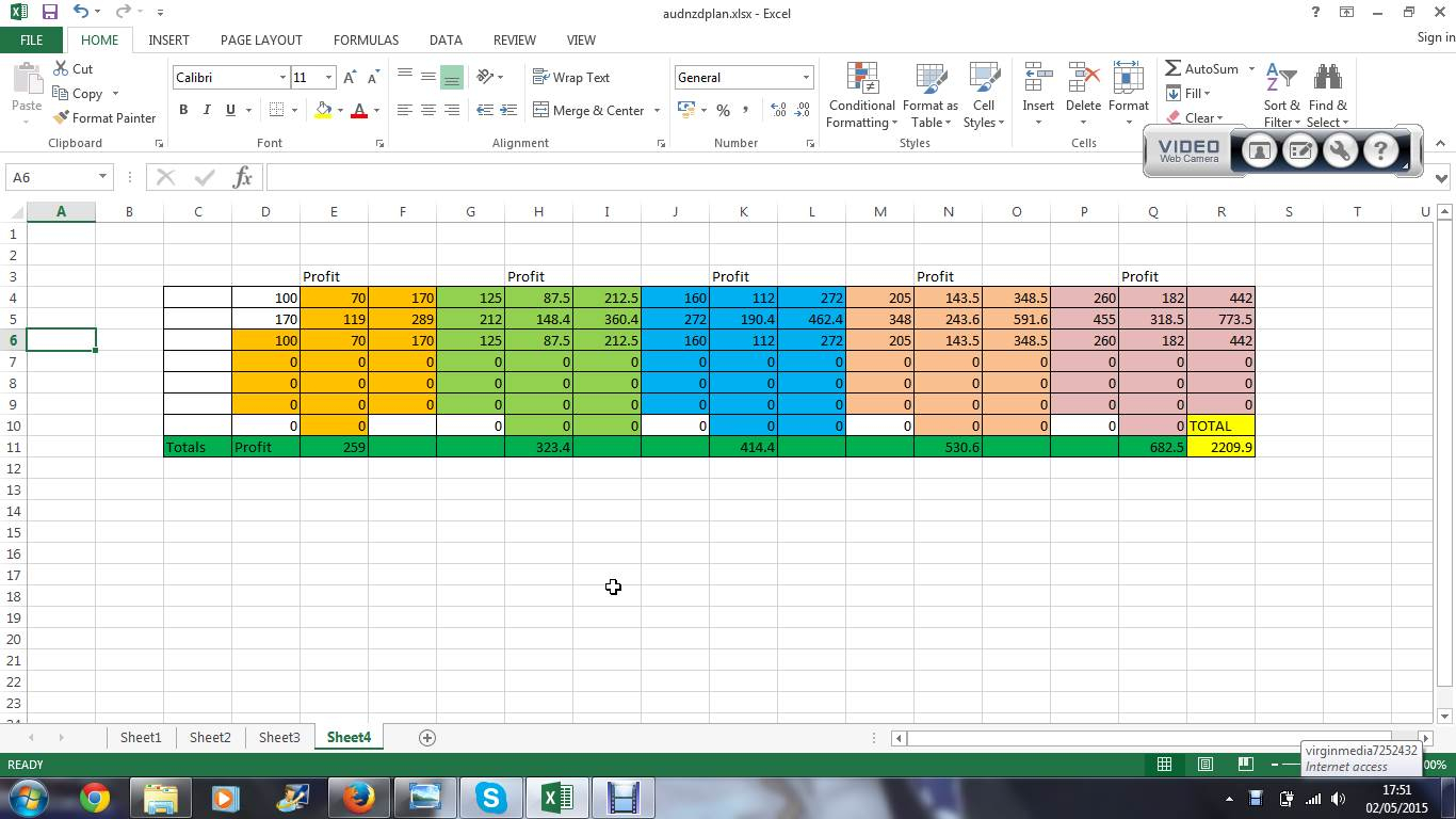 Money Management Excel Spreadsheet Intended For Binary
