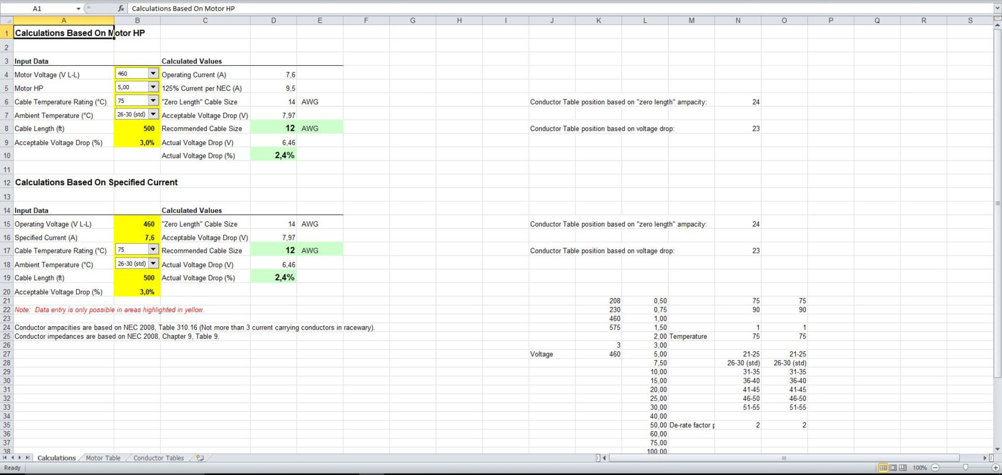 Nec Load Calculation Spreadsheet Payment Spreadshee Nec Load Calculation Spreadsheet