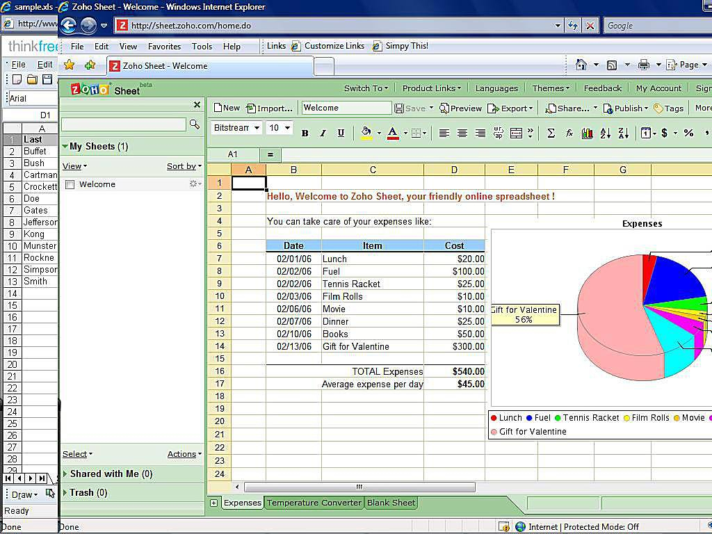Online Spreadsheet Collaboration Free Pertaining To Top