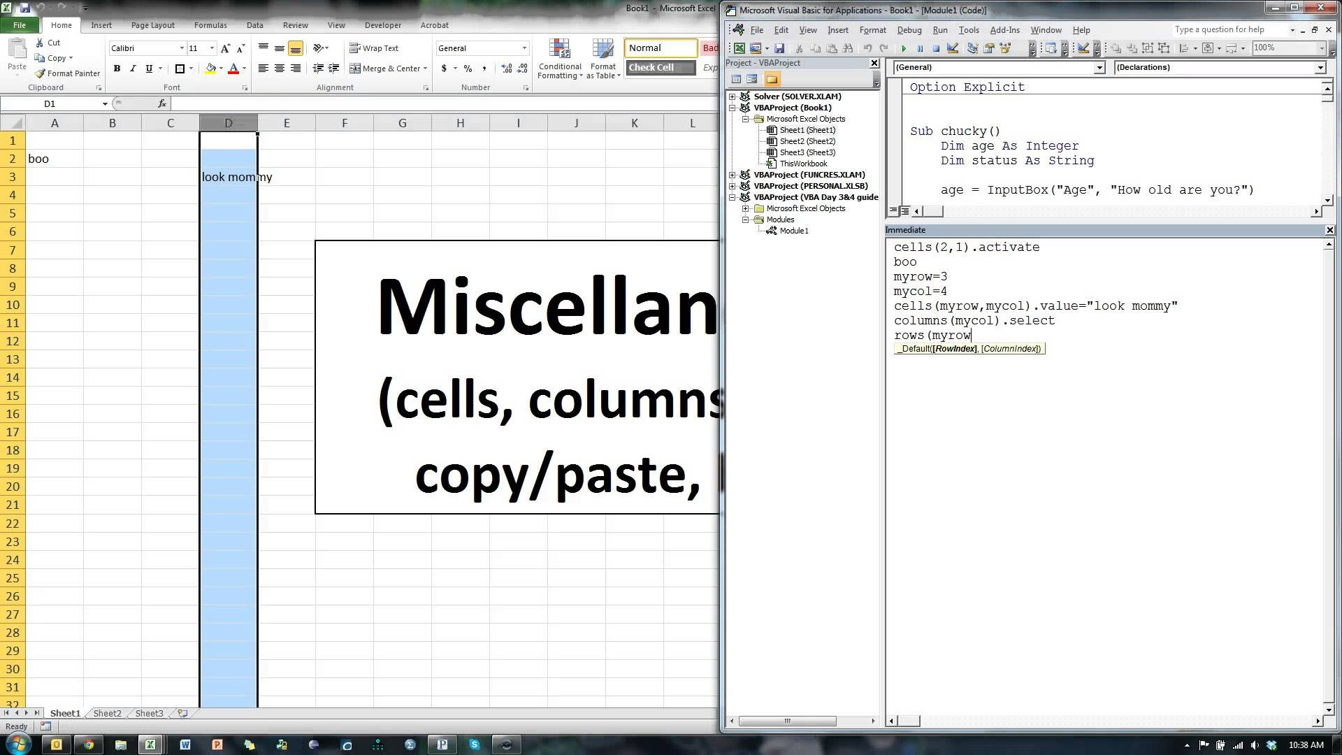 Unhide Worksheet With Vba