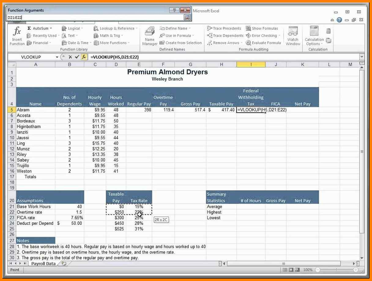 Payroll Accrual Spreadsheet Regarding 10 Excel Vacation