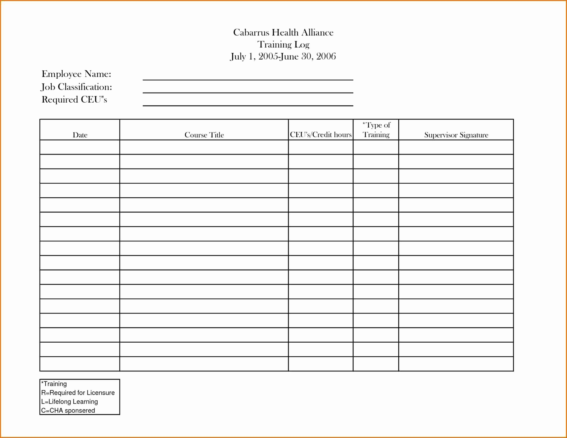 Personal Training Client Excel Spreadsheet With Personal