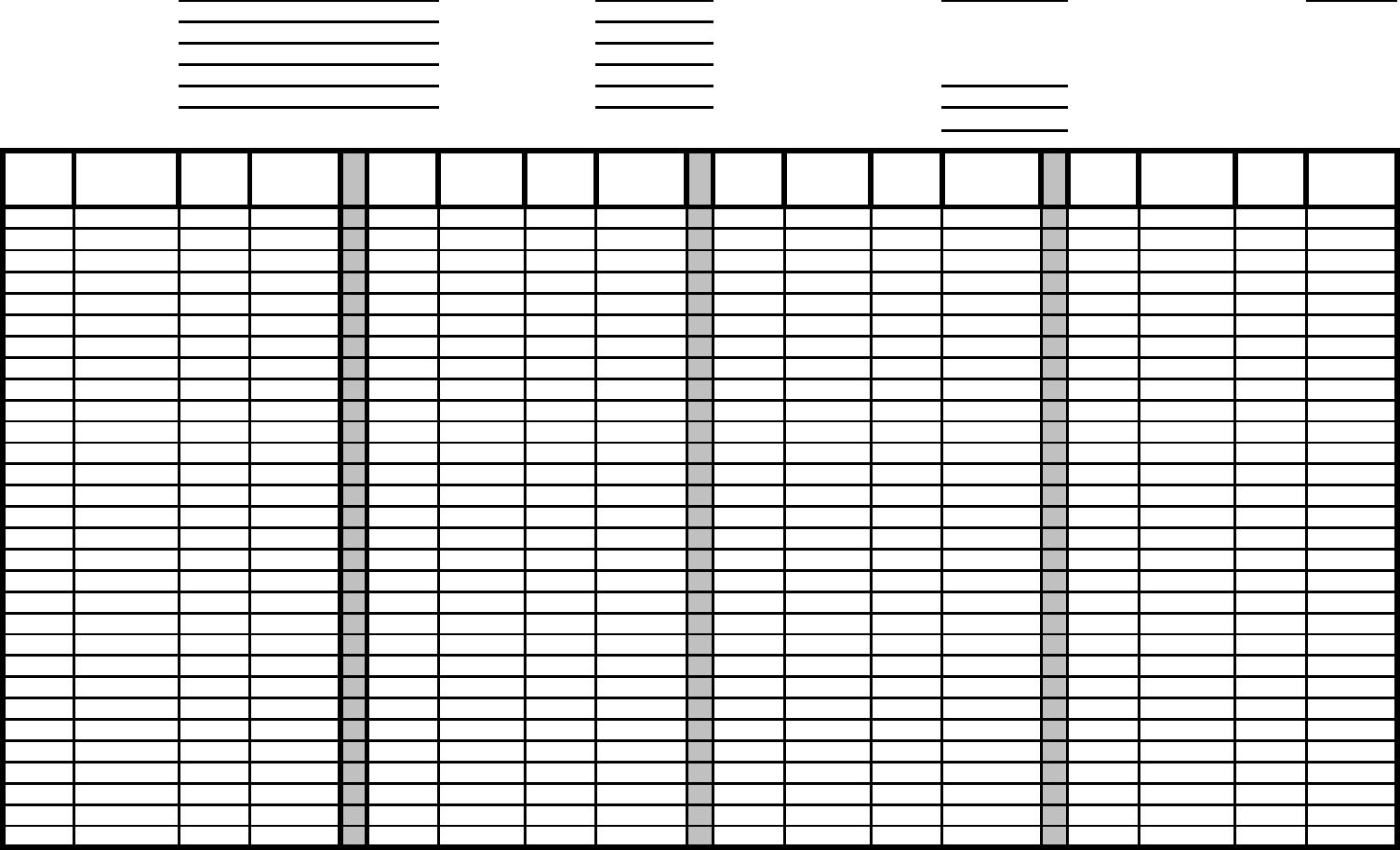 Pipe Tally Spreadsheet