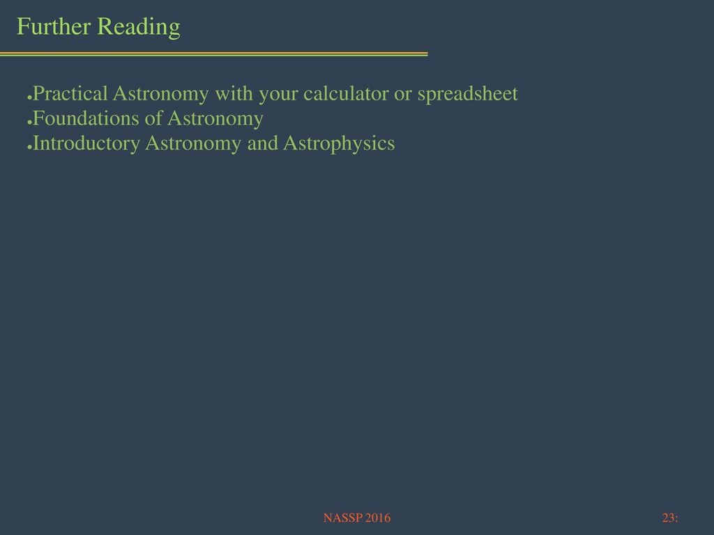 Practical Astronomy With Your Calculator Or Spreadsheet In