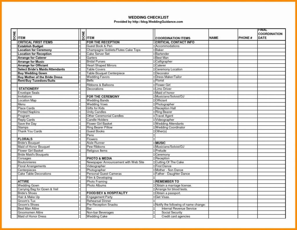 Printable Wedding Budget Spreadsheet Db Excel