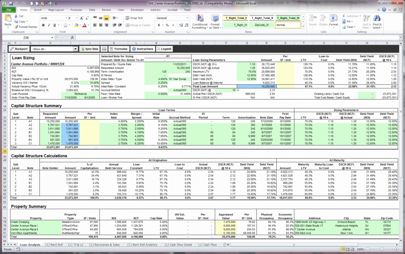 Property Investment Spreadsheet Uk Spreadsheet Downloa