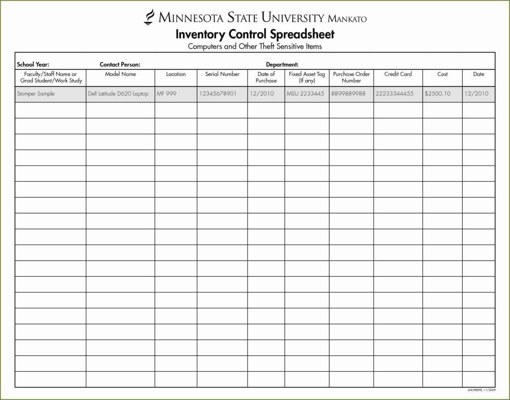 Rental Equipment Tracking Excel Spreadsheet Intended For