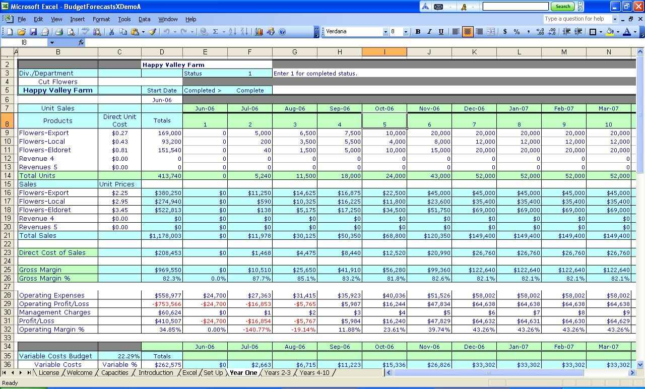 Restaurant Accounts Spreadsheet With Free Accounting