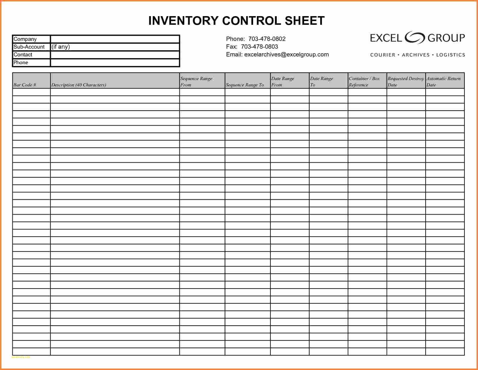 Restaurant Liquor Inventory Spreadsheet Intended For Bar I
