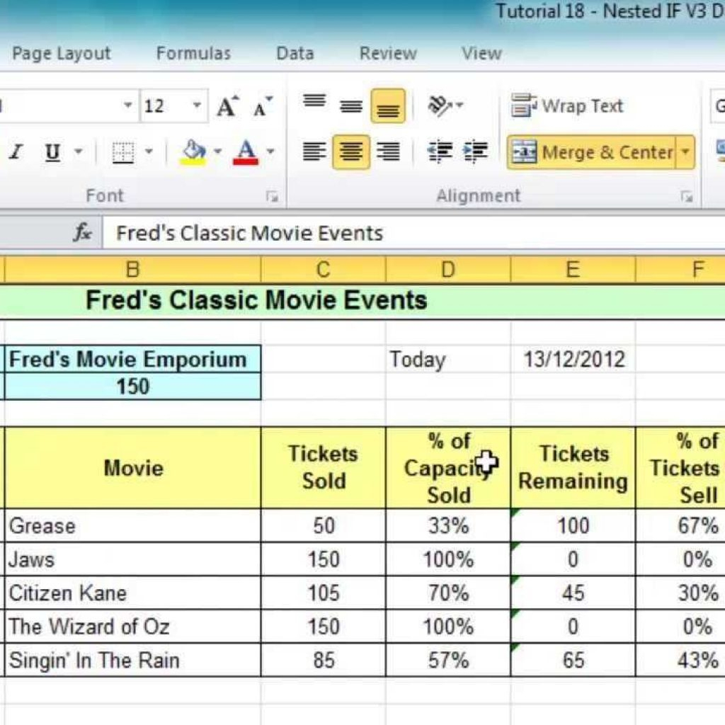 Sample Excel Spreadsheet For Practice Spreadshee