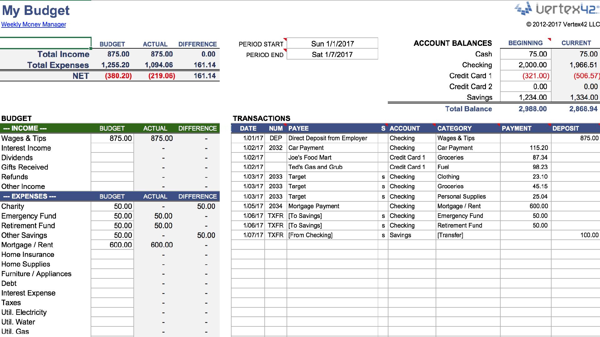 Excel Worksheet Manager