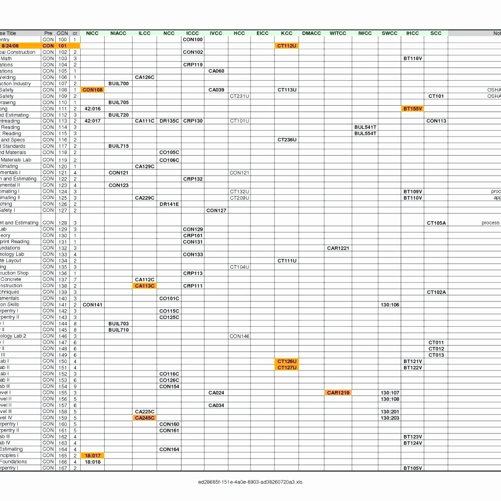 Schedule Of Values Spreadsheet With Aia Schedule Of Values