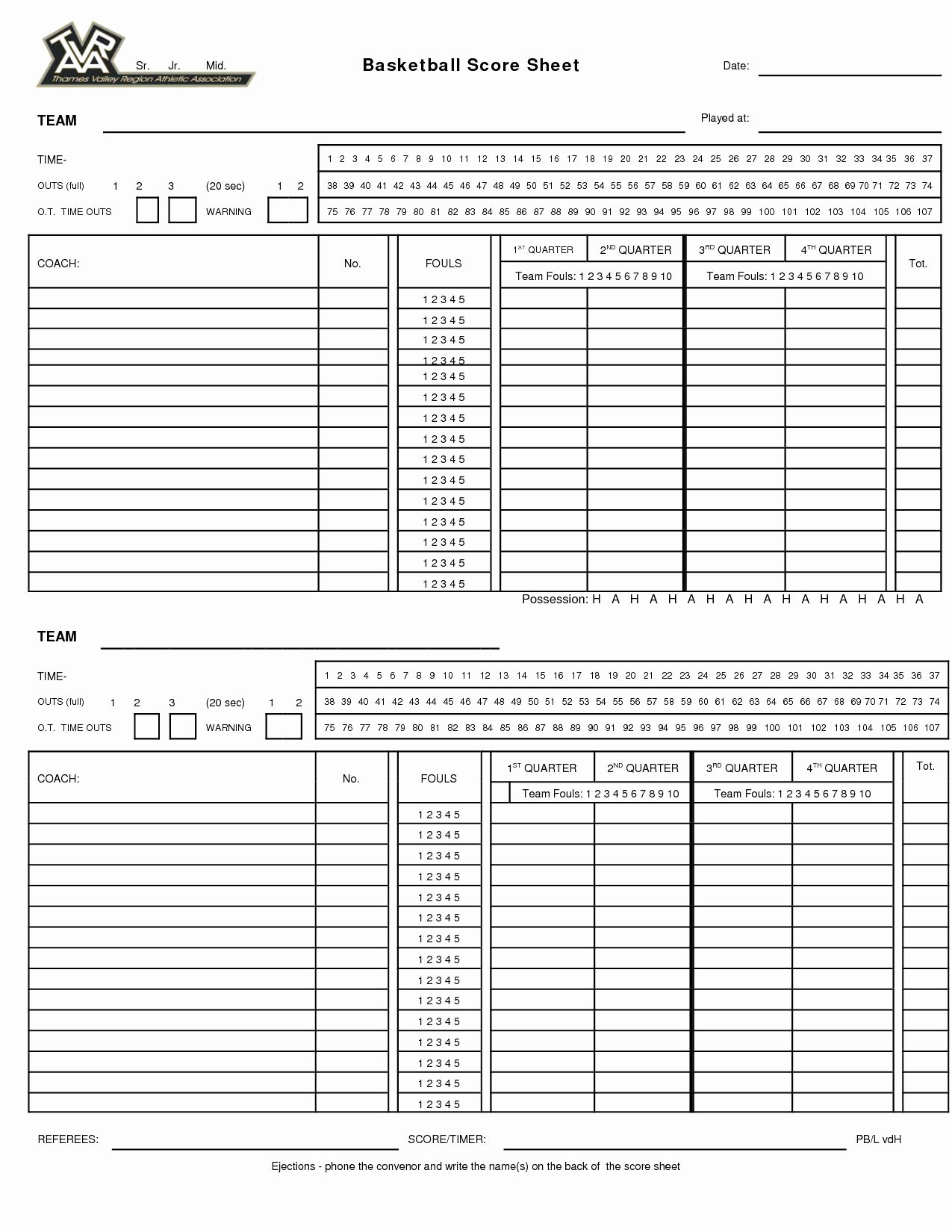 Soccer Tryout Evaluation Spreadsheet Inside Volleyball