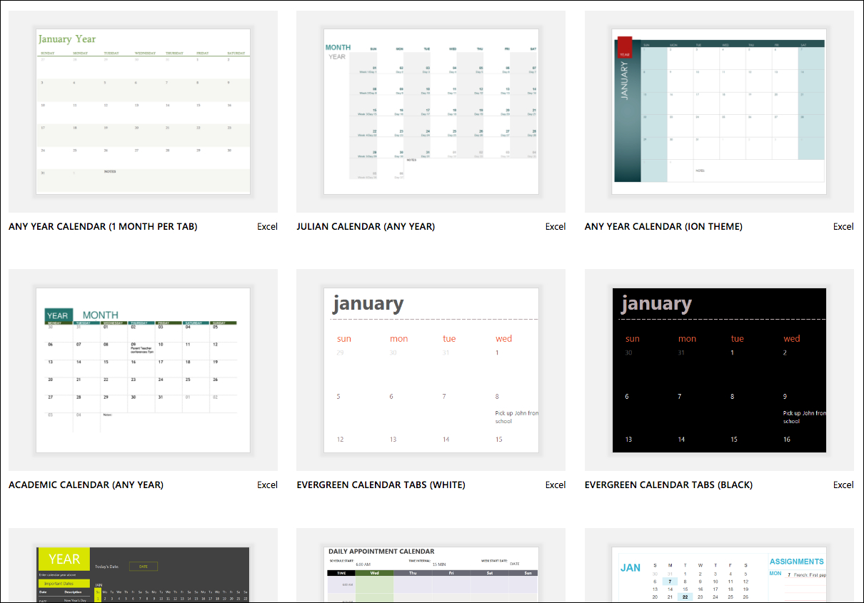 Spreadsheet Calendar Template In Excel Calendar Templates
