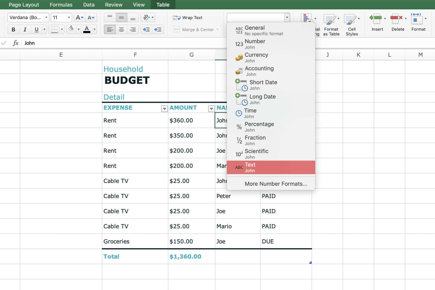 Spreadsheet Cell Definition Regarding What Is A
