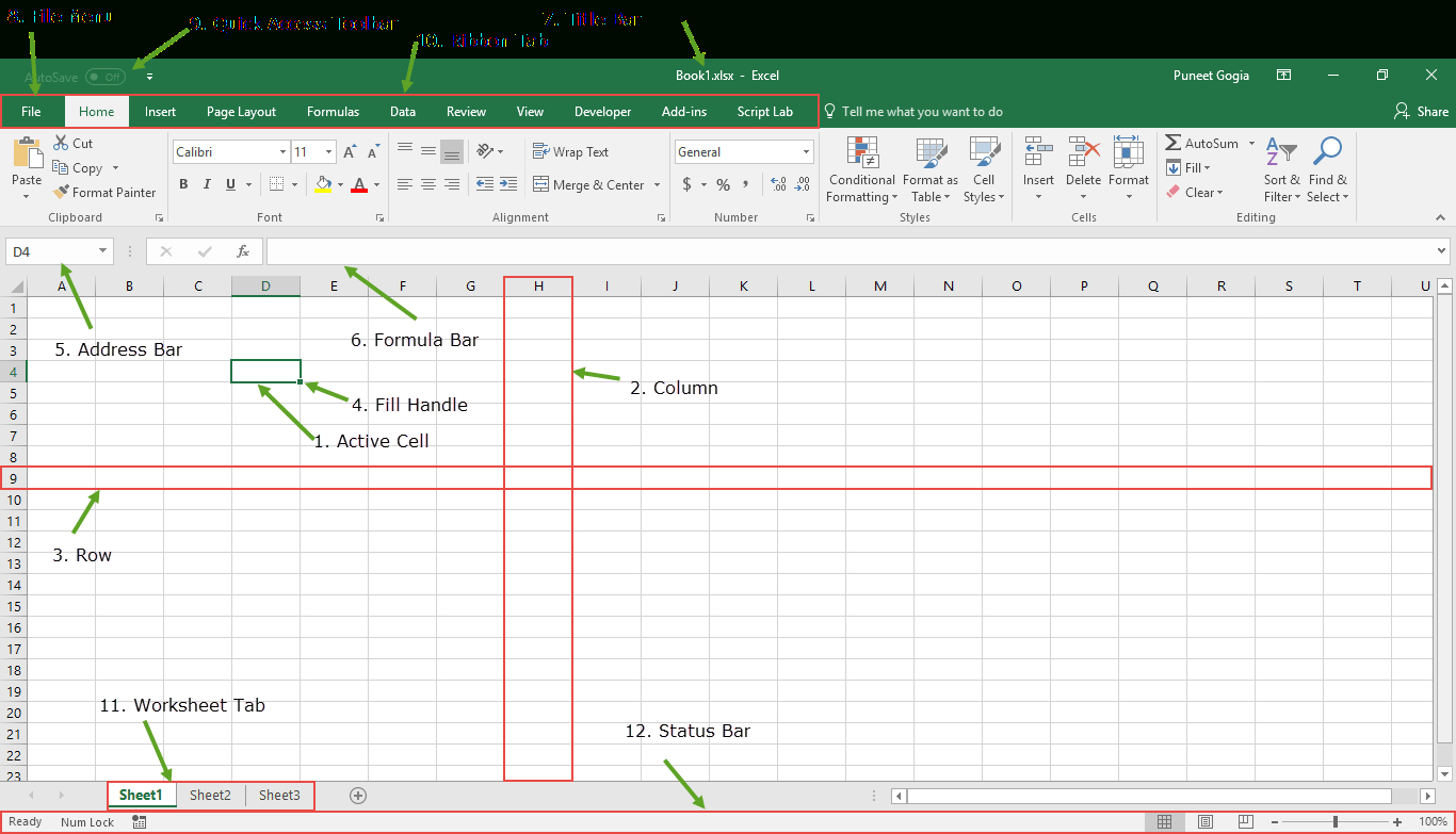 Spreadsheet Components Db Excel
