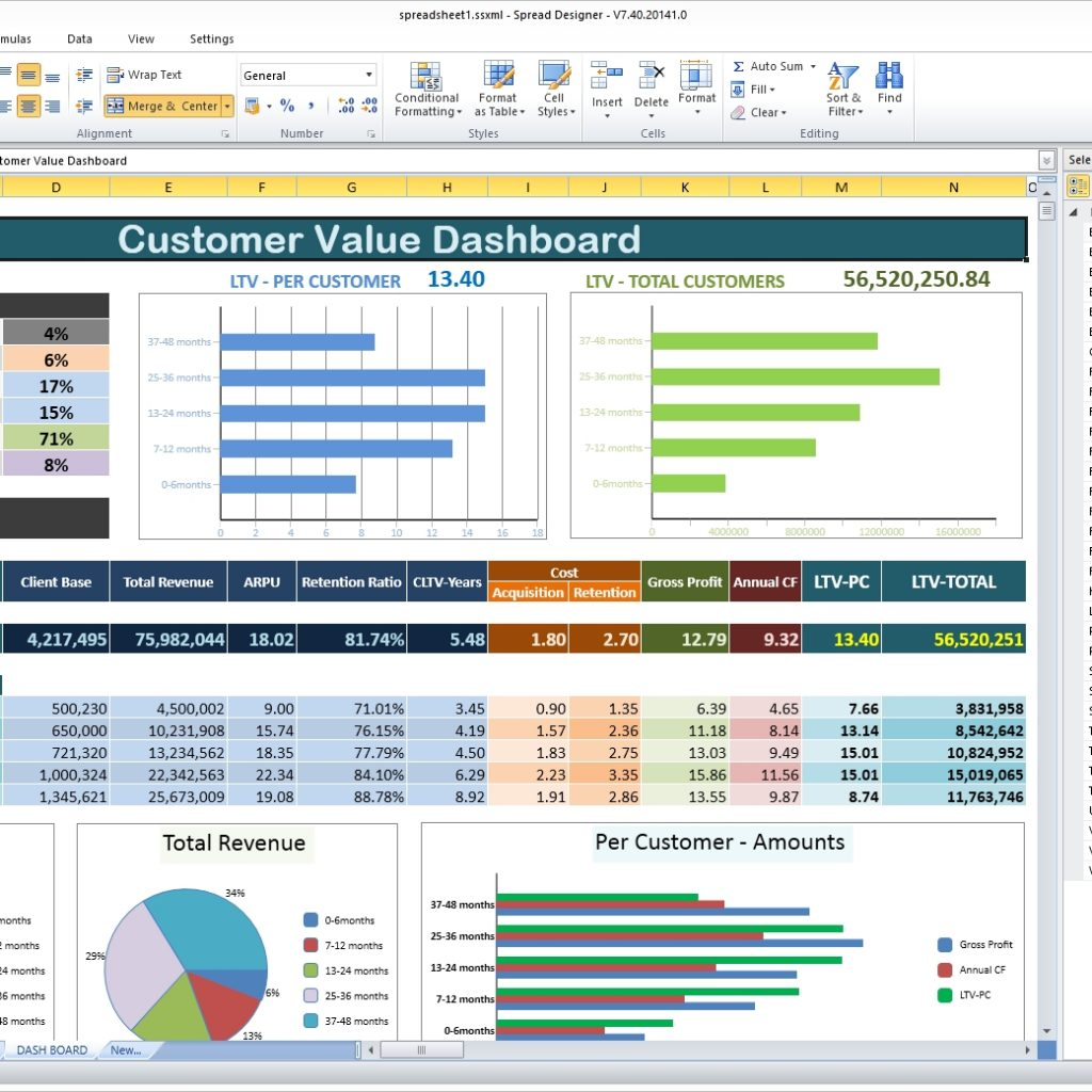 Spreadsheet Components Intended For Components Of A
